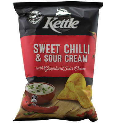 Kettle Sour Cream & Sweet Chilli 90g x 12