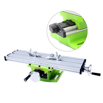 Miniature Precision Multifunction Milling Machine Bench Drill Work Table XY Axis