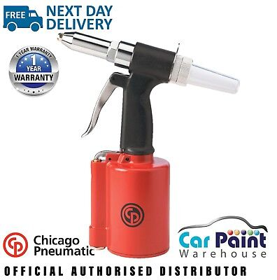"Chicago Pneumatic CP9882 Air Riveter 3/16""  - FREE UK NEXT DAY DELIVERY!"