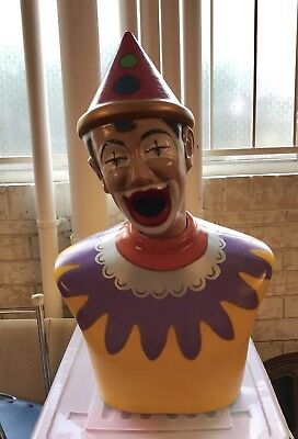 Laughing Clown   Retro Vintage Style   Royal Easter Show   Fairground Carnival