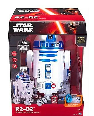 Star Wars R2D2 Interactive Robot RC Remote Control U Command