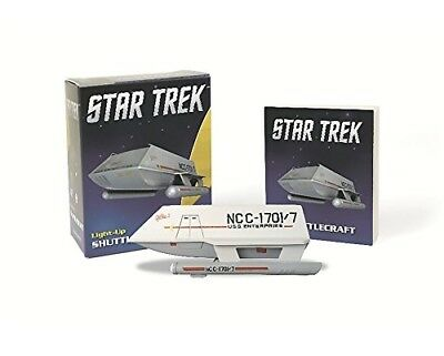 Star Trek: Light-Up Shuttlecraft  (Miniature Editions) + Book OVP-neu-new