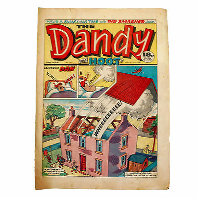 Vintage Rare The Dandy And Hoot Weekly Comic Magazine No. 2361 Boys And Girls Co