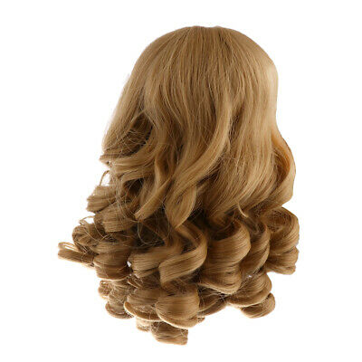 Khaki Big Wavy Wig DIY Making Hair Accessory for 18 inch American Girl Doll