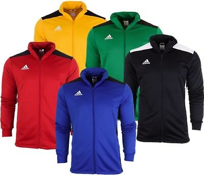 Adidas Men Regista18 Sport Football Soccer Jacket Long Sleeve Full Zip Track Top | eBay