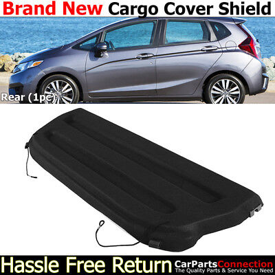 2015 2018 For Honda Fit Non Retractable Black Cargo Cover Trunk Shade Shield