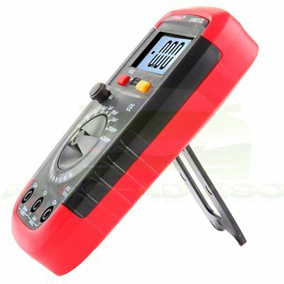 UA6013L Digital Capacitor Tester Capacitance Meter With LCD Backlight Date Hold