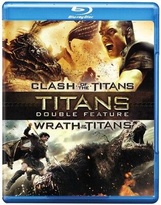 Clash Of The Titans (2010) / Wrath Of The Titans (Blu-ray Used Like New)