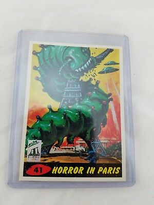 1994 Mars Attacks Parallel 1st First Day Issue Card #41