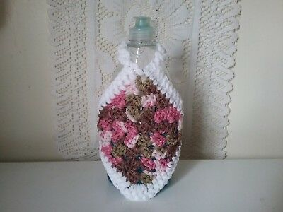 "Handcrafted/handcrocheted ""dish Soap Bottle Cozy"" (New)"