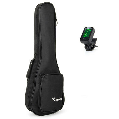 Gig Bag Carring Case for 26 Inch Tenor Ukulele Acoustic Guitar Bag and Tuner