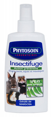 Phytosoin - 097314 - Rongeurs - Lotion Insectifuge - Spray sans Gaz