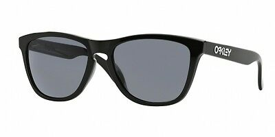 Brand New Oakley Frogskins (A) Sunglasses. 924501 Polished Black Size 54