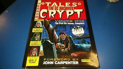 The EC Archives: TALES FROM THE CRYPT Vol.One (FREE UK P&P) NEW