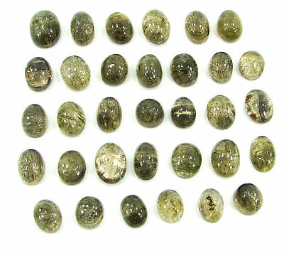 137.05 Ct Natural Scapolite Loose Cab Gemstone Wholesale Lot of 33 Pcs- 17524
