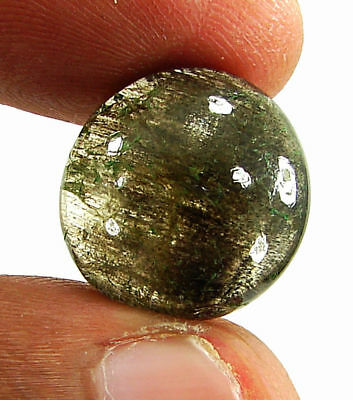 13.55 Ct Natural Scapolite Loose Cabochon Gemstone Beautiful Stone - 17558