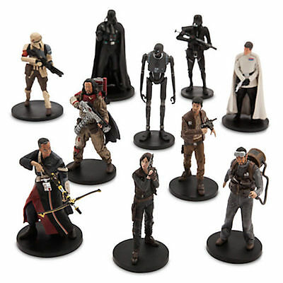 Star Wars  ROGUE ONE  Disney LOOSE FIGURES  JYN Chirrut Darth Vader Baze K2S0