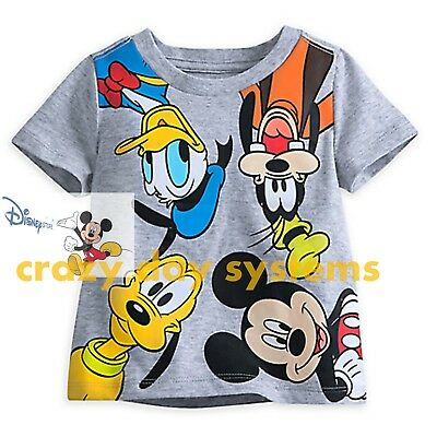 Disney Store Mickey Mouse and Friends Tee Size 18/24 Months Baby Boy NEW