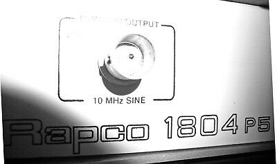 Rapco P1804 P5 Frequency Standard 10MHz