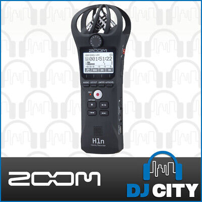 Zoom H1n Handheld PCM Portable Field Audio Sound Recorder w/ XY Mixrophones