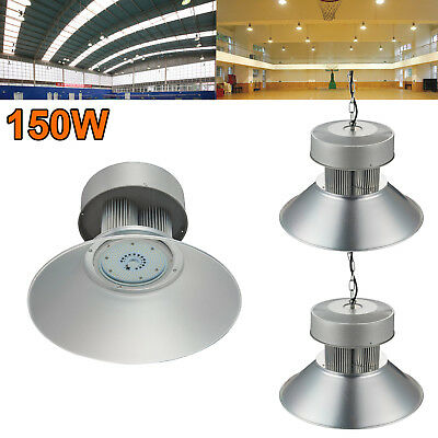 3X 150W LED High Bay Light Super Bright Fixture Warehouse Shop Gym Industry Lamp