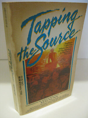 TAPPING THE SOURCE by Kem Nunn 1st Dell Printing 1985 VG California Point Break