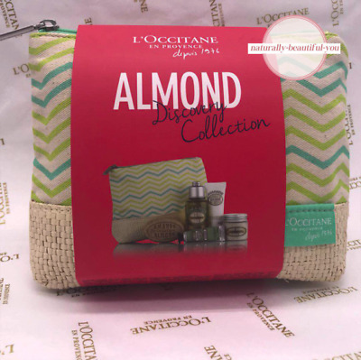 L'Occitane Almond Discovery Gift Pack Natural Delight Nourish Best Seller