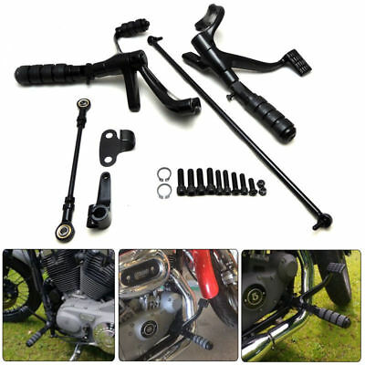 Forward Controls Complete Kit Pegs& Levers& Linkages For Harley Sportster 04-13