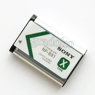 Sony NP-BX1 Battery for Sony Cyber-Shot DSC-RX100 RX100 RX1 BX1