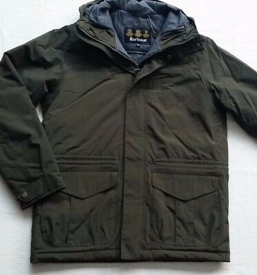 Barbour Rivington Men's Waterproof Insulated Jacket - Olive, Size M, L