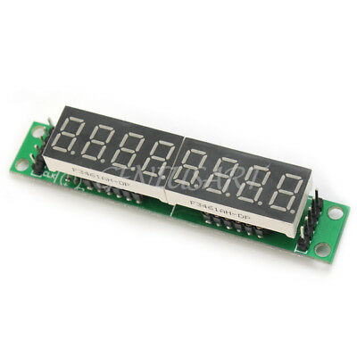 5V-MAX7219 8-Digit Red LED Display Module 7 Segment Digital Tube For Arduino MCU