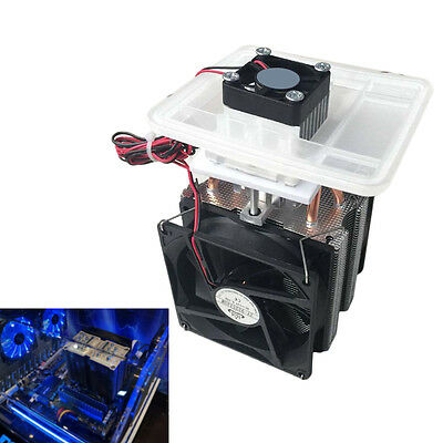 Good 72W Semiconductor Cooling System Air Conditioning Refrigeration Cool Set tt