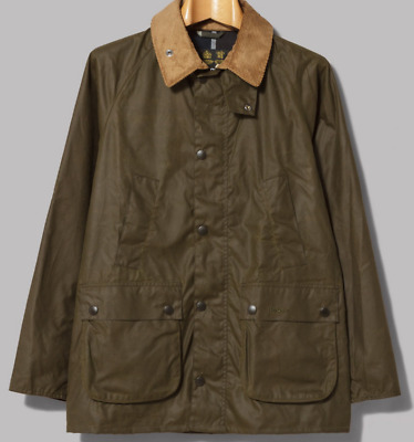 Barbour SL Bedale Men's  Waxed Cotton  Jacket - Olive, Size M, L, XL
