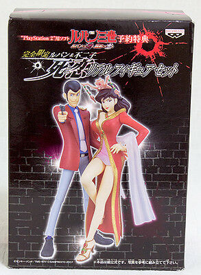 Lupin The 3rd Death and Love PS2 Limited Lupin&Fujiko figure JAPAN ANIME