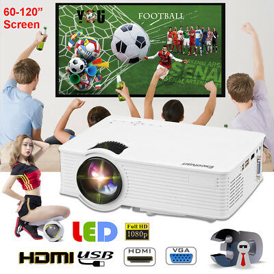 "60/72/100/120"" Projector Screen 16:9 HD Portable Home Theatre Outdoor Projection"