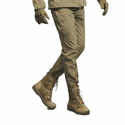 Tactical Waterproof Shell Pants Men Windproof Military Trouser Shark Skin New TS