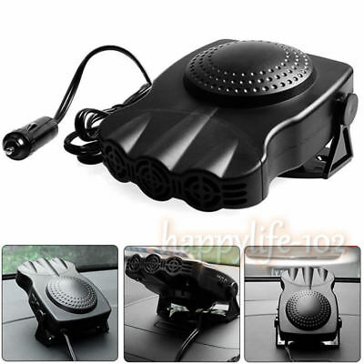 New Style Portable Car Heating Cooling Fan Heater Defroster Demister 12V 150W