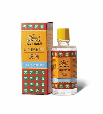 Tiger Balm Liniment Relief Muscle Joint Pain 28ml Made in Singapore