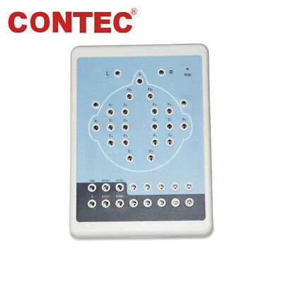 CE CONTEC KT88-1016 Digital 16-Channel EEG Machine and Mapping System+Tripod,New