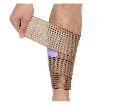(- Teint) - Fletion Highly Elastic Calf Wrap Brace Compression Support Brace