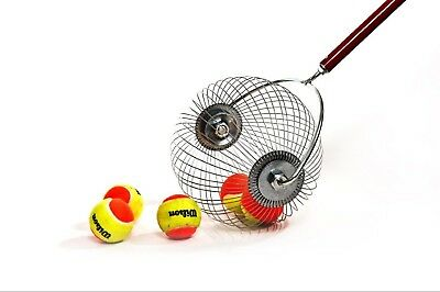 Tennis Ball Wizard - Saves All That Bending - tennis ball pick up tool -