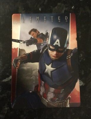 Panini Marvel 2017 Captain America Civil War Limited Edition Card