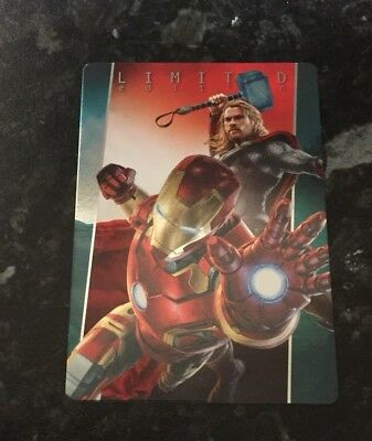 Panini Marvel 2017 Avengers Age Of Ultron Iron Man And Thor Limited Edition Card
