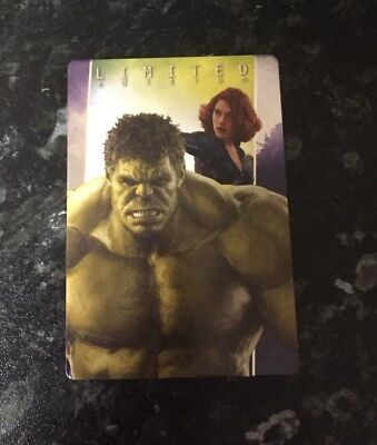 Panini Marvel 2017 Hulk And Black Widow Limited Edition Card Avengers