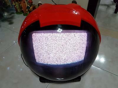 TV Televisore Philips Discoverer Casco Helmet Anni 70 80 Vintage retro' Space