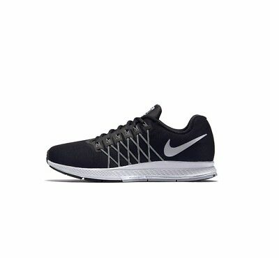 best service 49bc0 47876 Nike Air Pegasus 32 Uk Size 7 - 11 Black Running Trainers Shoes Rrp £100