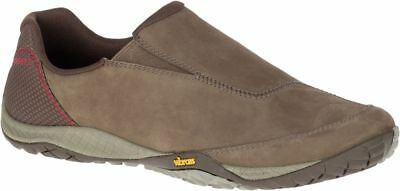 Merrell Parkway Moc Leather Mens Sneakers Running Shoes Slip On Trainers J94207