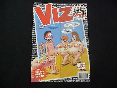 Viz Comic Magazine issue 96 with 4 free seaside postcards (LOT#2317)