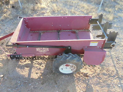 millcreek manure spreader model 15  24'' x 48'' used but in nice condition
