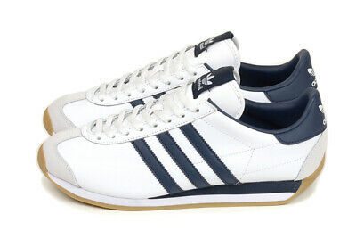 best service a78cf c12f2 ADIDAS ORIGINALS COUNTRY OG WHITENAVY BLUE sz US 6.5-10 Japan limited  G27443